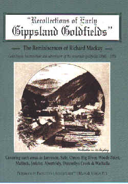Recollections of Early Gippsland Goldfields