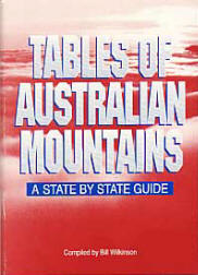 Tables of Australian Mountains - A State by State Guide