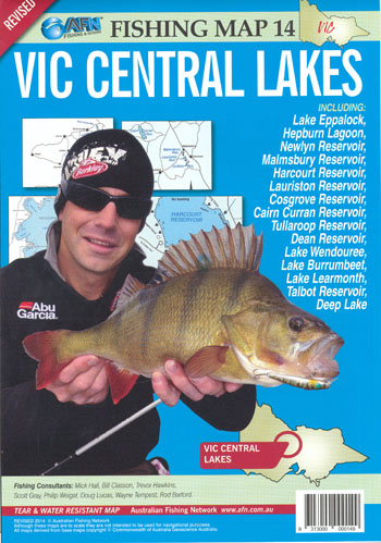 Victorian Central Lakes Map 14 AFN