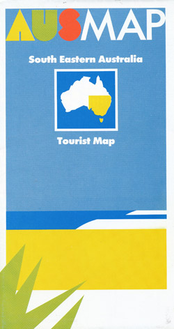 South Eastern Australia Tourist Map Geoscience