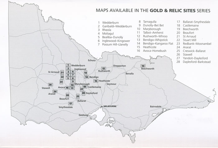 .Gold Relics Maps Index