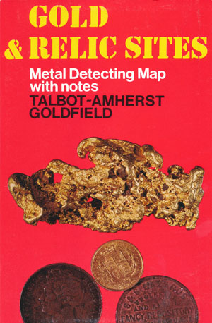 Talbot Amherst Gold Relic Map