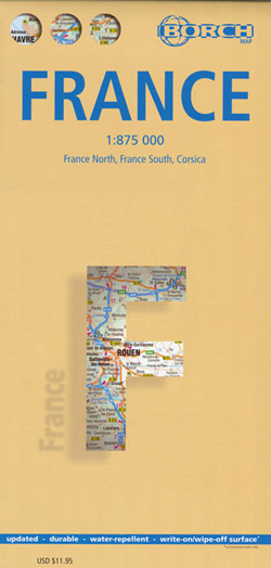 France Map Borch
