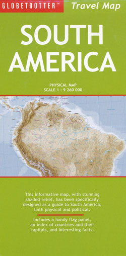 South America Map Globetrotter