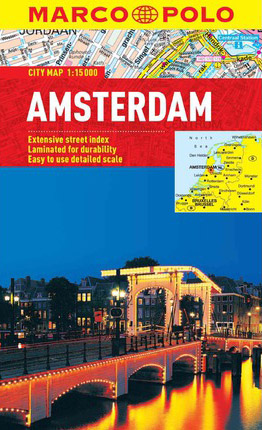 Amsterdam Map Marco Polo
