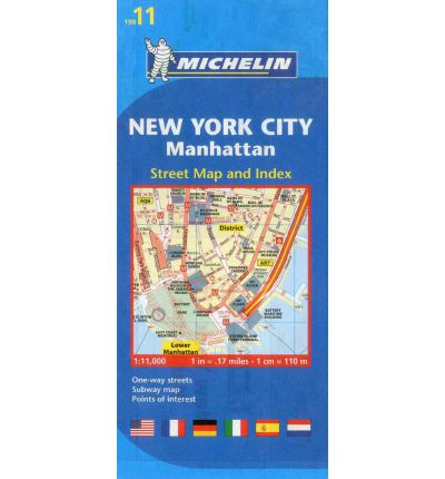 New York City Map 11 Michelin