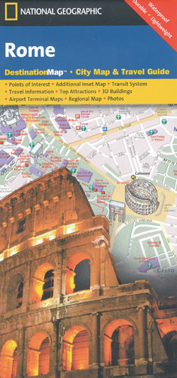 Rome Map National Geographic