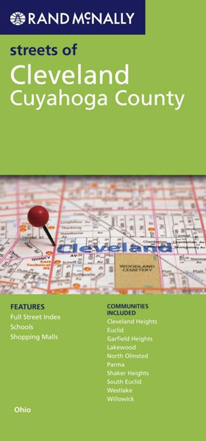 Cleveland City Map Rand McNally