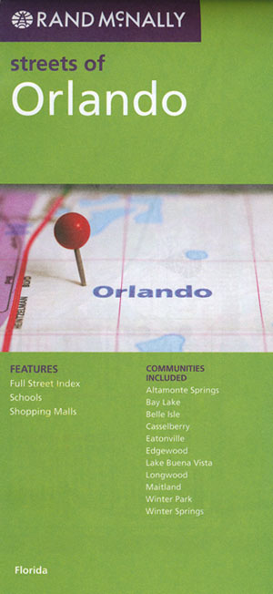 Orlando Map Rand McNally
