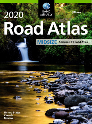 USA Mid Size Atlas Rand McNally 2020