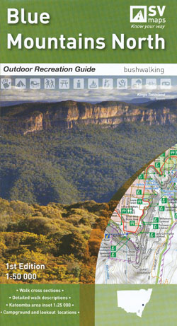 Blue Mountains North Map Spatial Vision