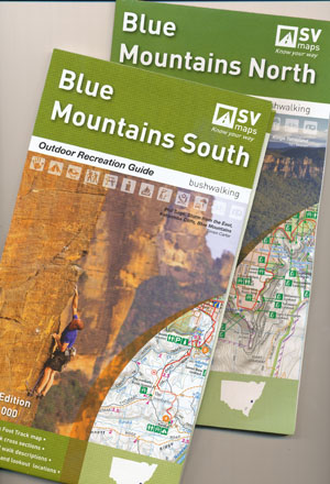 Blue Mountains North and South Maps Spatial Vision