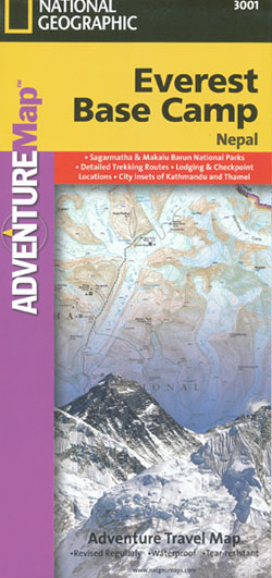 Everest Base Camp Map National Geographic