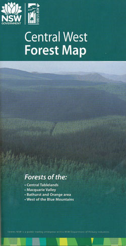 Central West Forests Map NSW