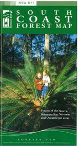 South Coast Forests Map NSW