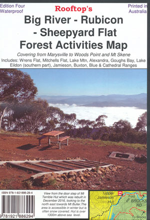 Big River Rubicon Forest Activities Map Rooftop