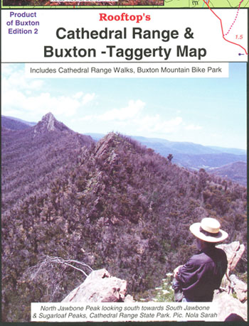 Cathedral Range and Buxton Taggerty Map Rooftop