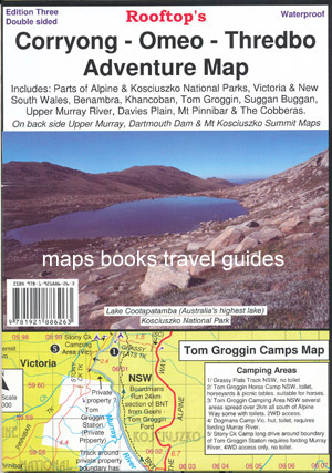 Corryong Omeo Thredbo Map Rooftop Waterproof