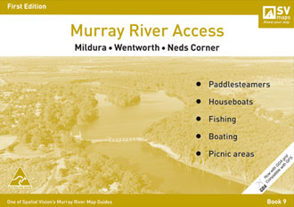 Murray River Access Mildura Wentworth Neds Corner Spatial Vision