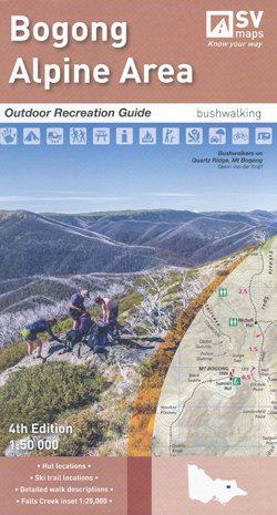Bogong Alpine Area Map Spatial Vision