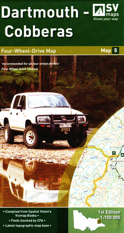 Dartmouth Cobberas 4WD Map 5 Spatial Vision
