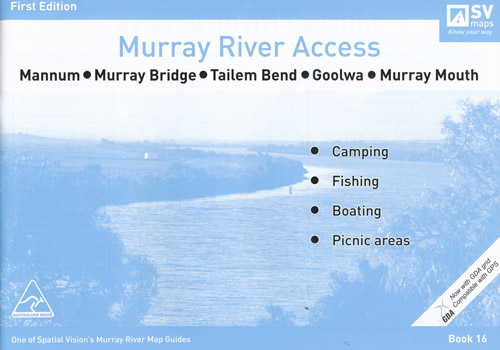 Murray River Access Mannum to Murray Mouth Book 16 Spatial Vision