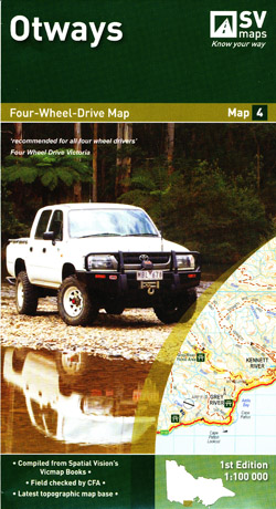 Otways 4WD Map 4 Spatial Vision