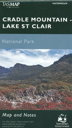 Cradle Mountain Lake St Clair Map Tasmap
