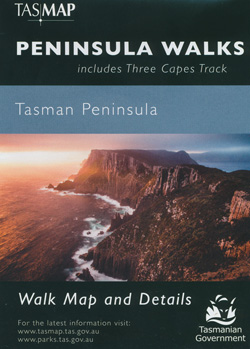 Peninsula Walks Map  Tasmap