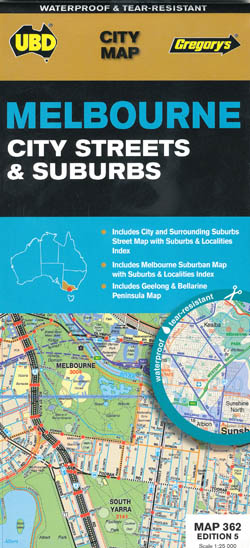 Melbourne Suburban 362 4th Edition UBD Gregorys