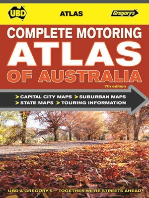 UBD/Gregory's Touring Atlas of Australia - 27th Edition by Various [Paperback]