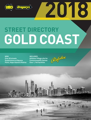 Gold Coast Street Directory UBD Gregory's