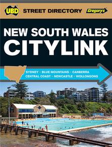 New South Wales Citylink 26th UBD Gregory's