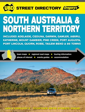 South Australia Northern Territory Street Directory UBD Gregorys
