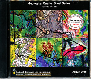 Geological Quarter Sheets Victoria CD