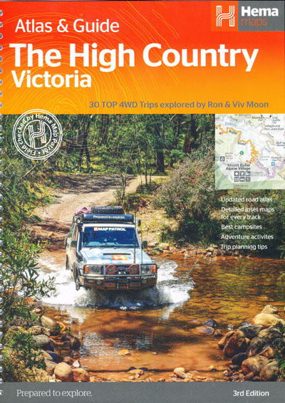 The High Country Victoria Atlas and Guide Hema