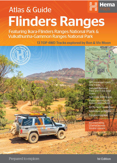 Flinders Ranges Atlas and Guide Ed 1