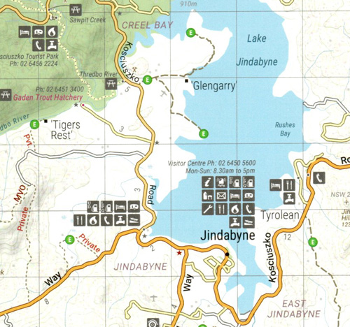 High Country Victoria North East Map Hema