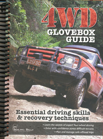 4WD Glovebox Guide Spiral Bound Boiling Billy