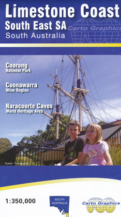 Limestone Coast South East SA Map Carto Graphics