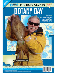 Botany Bay Fishing Map 23 AFN