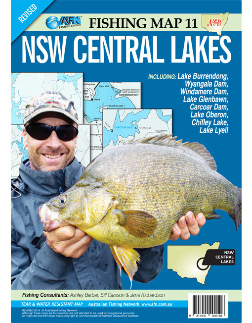 New South Wales Central Lakes Fishing Map 11 AFN