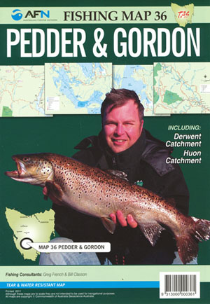 Pedder and Gordon Fishing Map 36 AFN