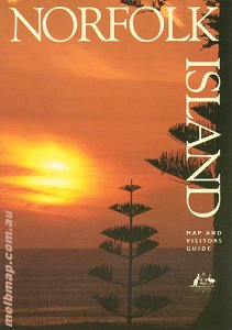 Norfolk Island Tourist Map Geoscience