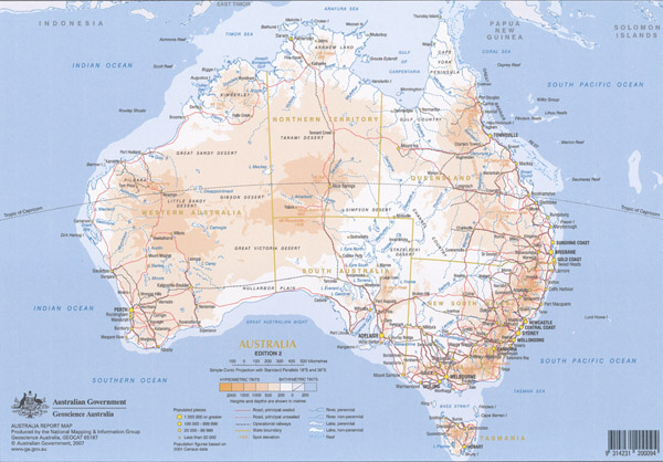 Map Of Australia To Buy.Australia A4 Map Laminated Maps Books Travel Guides Buy Online