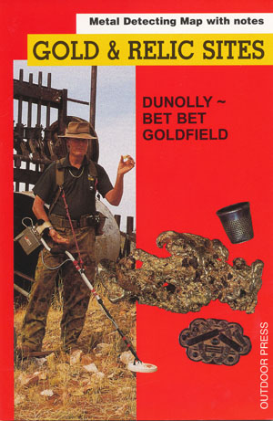 Dunolly Bet Bet Gold Relic Map