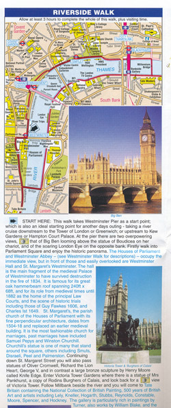 London A-Z Map and Walks
