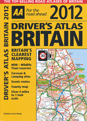 Britain Drivers Atlas 2012 AA