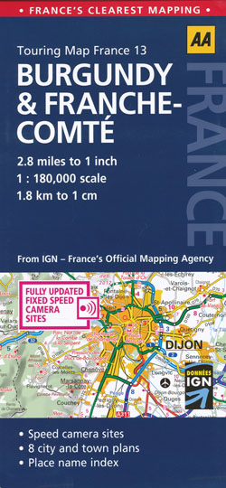 Burgundy Frache Combe Map 13 AA