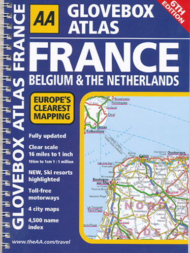 France Belgium Netherlands Glovebox Atlas Spiral AA